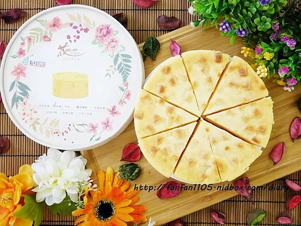 【團購美食】花mama 乳酪蛋糕 乳酪二次方 微鹹濃郁 齒頰留香 (3).JPG
