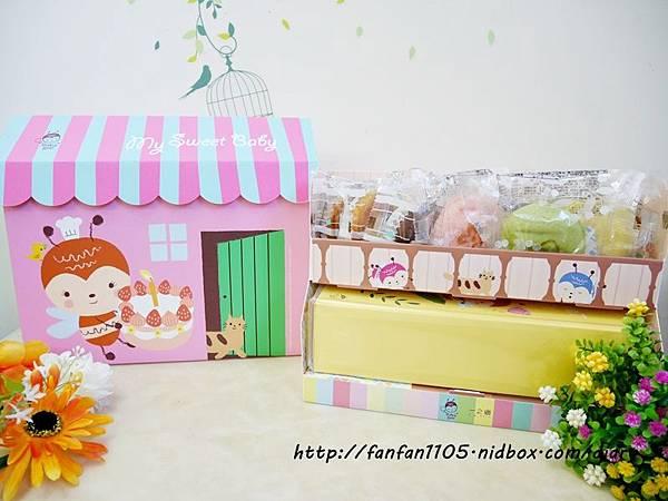【彌月蛋糕推薦】一之鄉 許願小屋 彌月蛋糕禮盒  (5).JPG