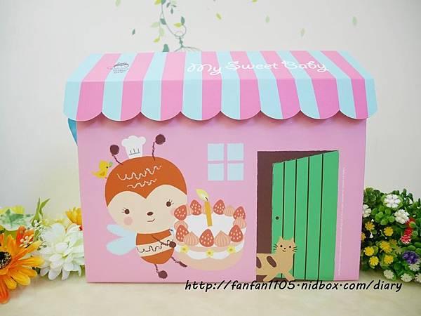 【彌月蛋糕推薦】一之鄉 許願小屋 彌月蛋糕禮盒  (3).JPG