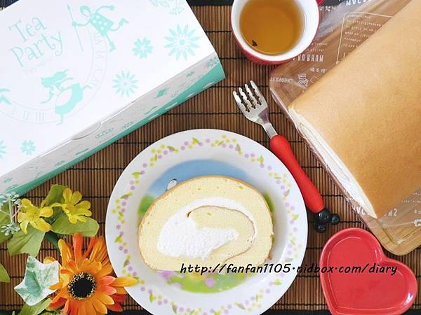 【台南美食】百五手作 棉花糖生乳捲(原味) 重量級的美味