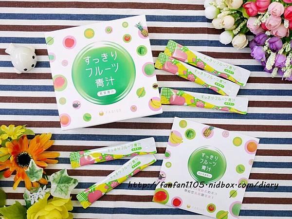 日本熱銷 FABIUS 素果青汁 一包做好體內環保 蛋奶素也能喝的青汁! (5).JPG