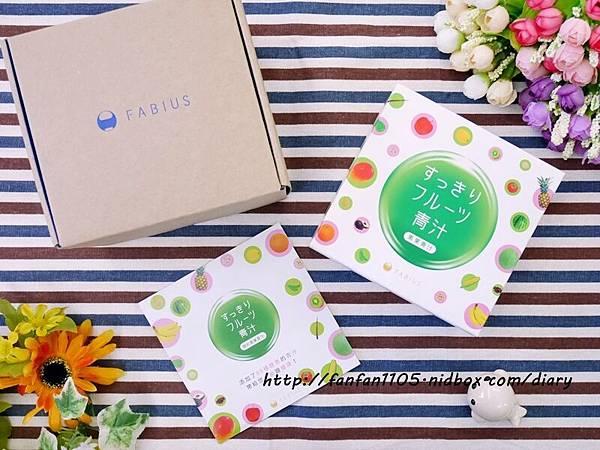 日本熱銷 FABIUS 素果青汁 一包做好體內環保 蛋奶素也能喝的青汁! (3).JPG