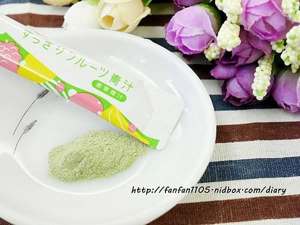 日本熱銷 FABIUS 素果青汁 一包做好體內環保 蛋奶素也能喝的青汁! (6).JPG