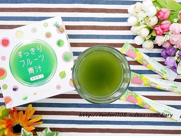 日本熱銷 FABIUS 素果青汁 一包做好體內環保 蛋奶素也能喝的青汁! (7).JPG