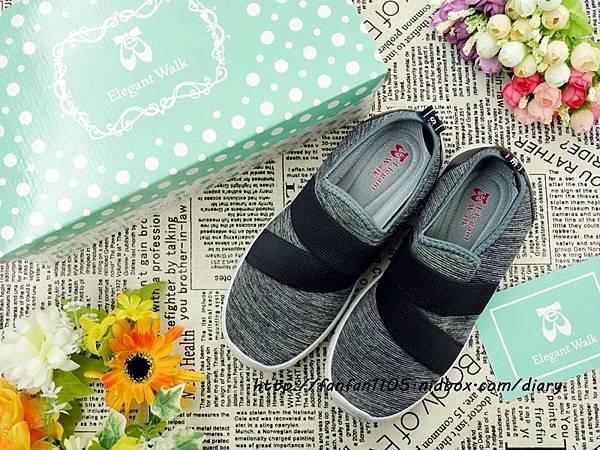 Elegent Walk EW女鞋 氣質蝴蝶結娃娃鞋 Walk健走系列無印風簡約輕量運動鞋 輕量又舒適 (7).JPG