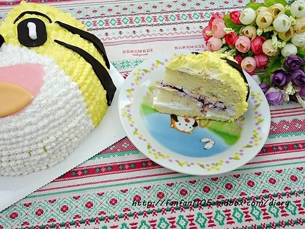 【烘焙教室】Yumi手作烘焙 巧虎造型蛋糕DIY 初學者也能輕易上手喔! (32).JPG