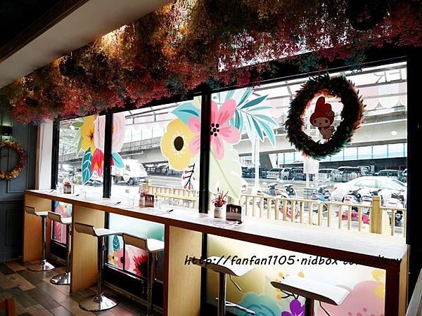 【美樂蒂主題餐廳】Amandier雅蒙蒂法式甜點 美樂蒂花草風期間限定咖啡廳 乾燥花餐廳 IG打卡熱門地點 (5).JPG