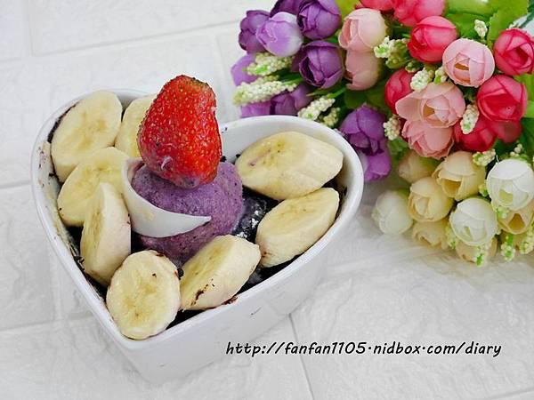 【Frigidaire 富及第】20L 美型微波爐 輕鬆製作情人節甜點 微波爐甜點食譜分享 (16).JPG