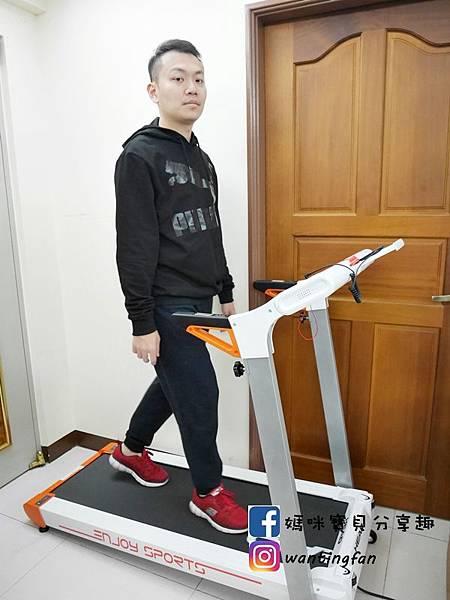 【跑步機推薦】HEAD Fitness 海德H-T190超靜音摺疊跑步機 免安裝 靜音跑步機 居家摺疊跑步機 (21).JPG
