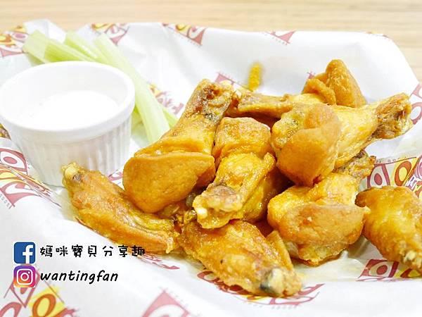 【台北美式餐廳】狂野雞翅美式餐廳 必點水牛雞翅 平價異國風味 (24).JPG