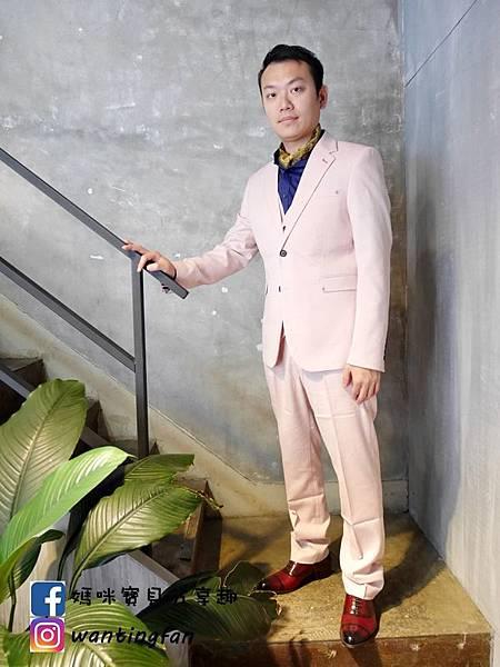 【台中西裝】Mr.k SUIT 西服攝影婚宴 訂製款平價韓版西裝 生活婚宴尾牙穿搭 (8).JPG
