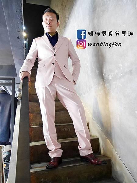 【台中西裝】Mr.k SUIT 西服攝影婚宴 訂製款平價韓版西裝 生活婚宴尾牙穿搭 (12).JPG