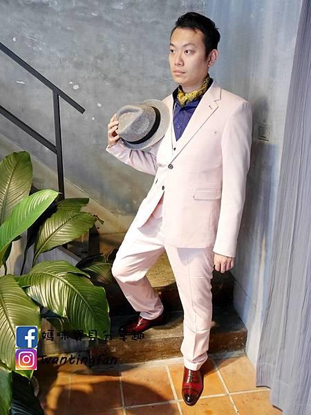 【台中西裝】Mr.k SUIT 西服攝影婚宴 訂製款平價韓版西裝 生活婚宴尾牙穿搭 (11).JPG