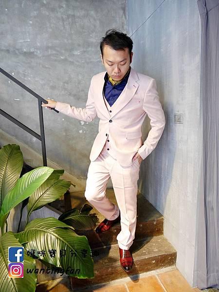 【台中西裝】Mr.k SUIT 西服攝影婚宴 訂製款平價韓版西裝 生活婚宴尾牙穿搭 (13).JPG