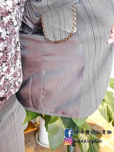 【台中西裝】Mr.k SUIT 西服攝影婚宴 訂製款平價韓版西裝 生活婚宴尾牙穿搭 (21).JPG