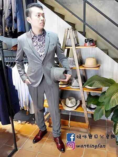 【台中西裝】Mr.k SUIT 西服攝影婚宴 訂製款平價韓版西裝 生活婚宴尾牙穿搭 (17).JPG