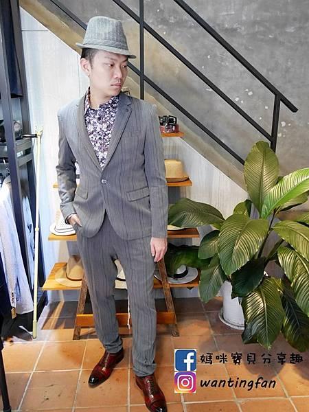 【台中西裝】Mr.k SUIT 西服攝影婚宴 訂製款平價韓版西裝 生活婚宴尾牙穿搭 (18).JPG