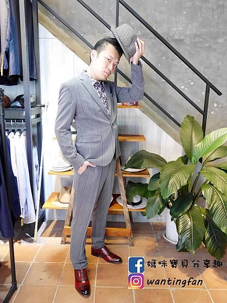 【台中西裝】Mr.k SUIT 西服攝影婚宴 訂製款平價韓版西裝 生活婚宴尾牙穿搭 (19).JPG