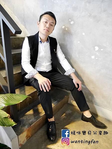 【台中西裝】Mr.k SUIT 西服攝影婚宴 訂製款平價韓版西裝 生活婚宴尾牙穿搭 (23).JPG