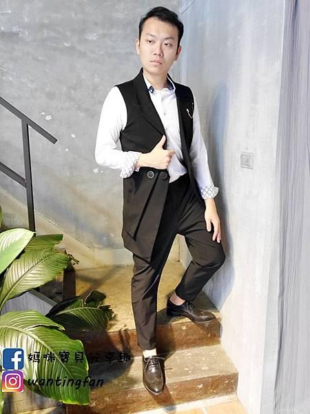 【台中西裝】Mr.k SUIT 西服攝影婚宴 訂製款平價韓版西裝 生活婚宴尾牙穿搭 (28).JPG