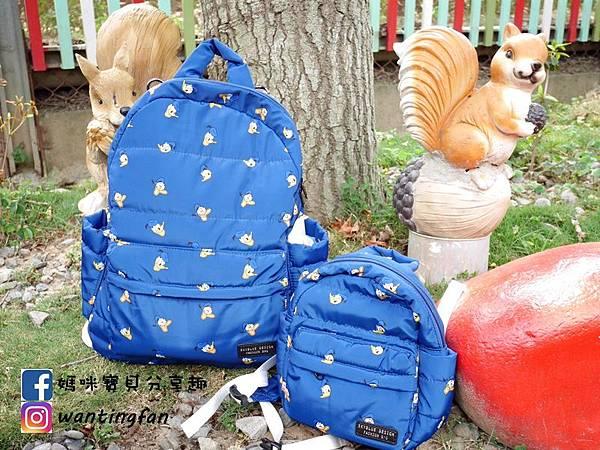 【天藍小舖】迪士尼造型唐老鴨保冷多功能後背包迪士尼造型唐老鴨寶貝多功能後背包 #媽媽包 #親子包 #迪士尼 #背包 (17).JPG
