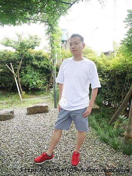 【Releon】100%棉透氣竹節T 純白 #竹節棉 #吸汗透氣 #功能T恤 #休閒 (17).JPG