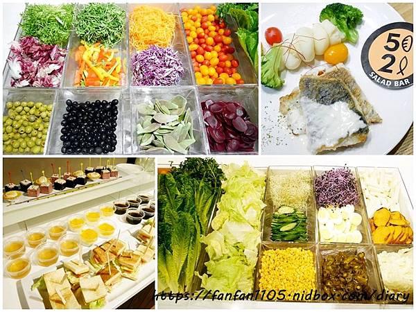 【52輕食buffet Salad Bar】#台北聚餐 #台北松江南京美食 #平價吃到飽 #健康 #輕食 #生菜沙拉吧 #蔬果汁 #生菜buffet自助吧 #美式新鮮特調沙拉 #排餐 #咖啡 (39).jpg