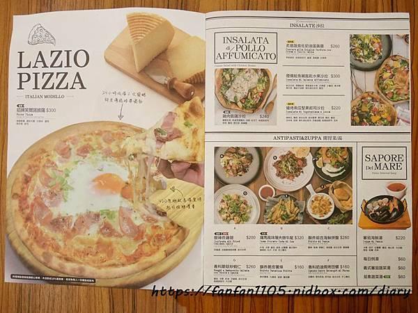 【蘆洲美食】石窯屋 #義式料理 #窯烤披薩 #披薩 #半月烤餅 #義大利燉飯 #義大利麵 (13).JPG