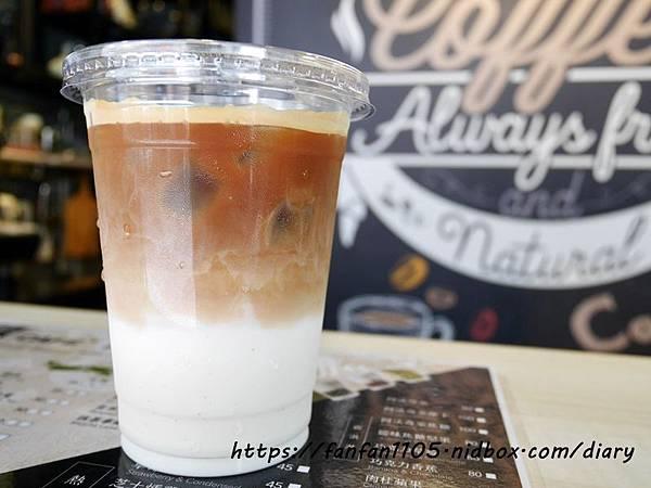 【東區咖啡】藏咖啡 #茶拿鐵 #熱壓吐司 #霜淇淋 #藏cafe #平價咖啡 (7).JPG