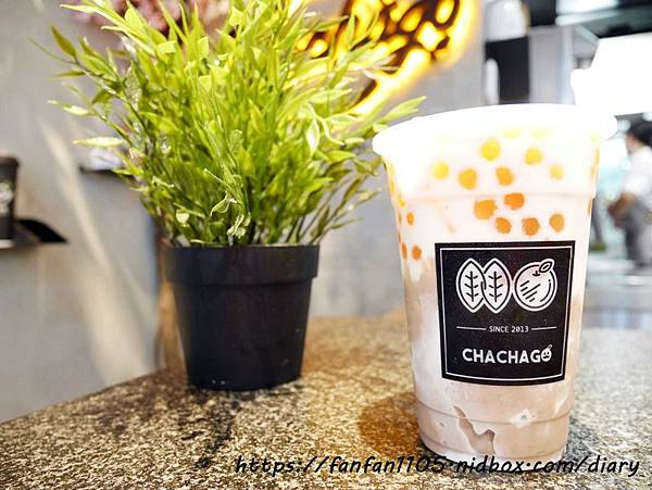 【Chachago 茶茶GO】逮丸芋頭2號 #Chachago #茶茶果 #西門美食 #西門飲品 #手搖飲 #初鹿農場鮮奶 #茶茶GO西門形象店 (12).JPG