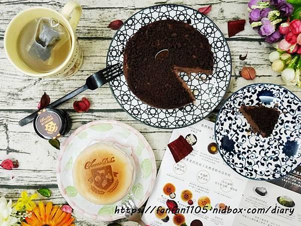 【起士公爵】朱古力圓舞曲、北國藍莓 #彌月蛋糕 #伴手禮 #無奶油 #無麩質 #無添加乳酪蛋糕 (10).JPG