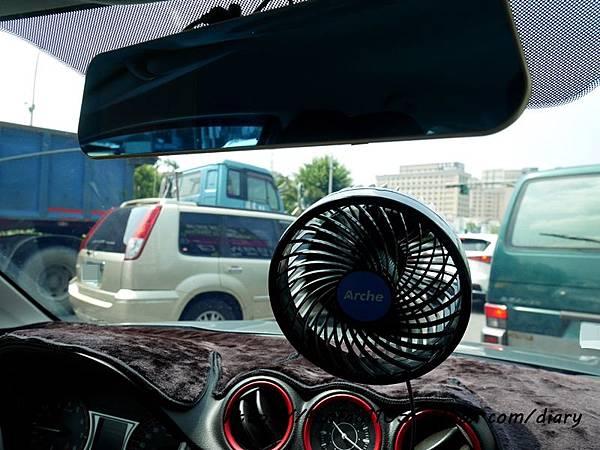 車用循環扇【Arche艾鉅】全新一代加強版馬達 6吋渦流循環風扇  #循環風扇 #車用 (13).JPG