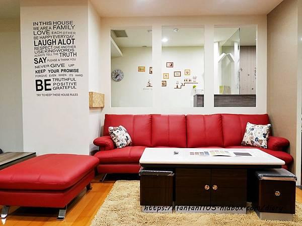 【家具推薦】多瓦娜家居 #平價家具店 #貓抓皮沙發 #L型沙發 #沙發床 (6).JPG