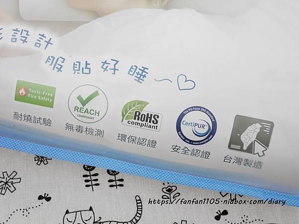 【GreySa格蕾莎】兒童環保記憶枕 專為5~12歲兒童設計 #台灣製造 側睡仰睡都適合 (2).JPG