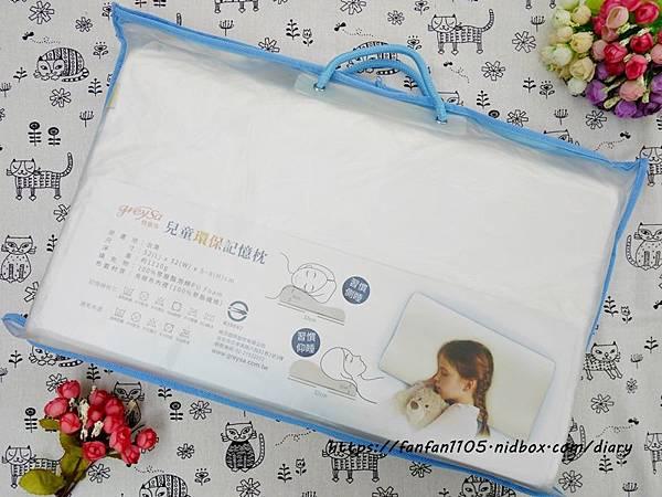【GreySa格蕾莎】兒童環保記憶枕 專為5~12歲兒童設計 #台灣製造 側睡仰睡都適合 (1).JPG