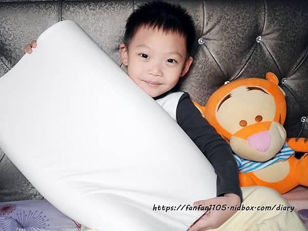 【GreySa格蕾莎】兒童環保記憶枕 專為5~12歲兒童設計 #台灣製造 側睡仰睡都適合 (12).JPG
