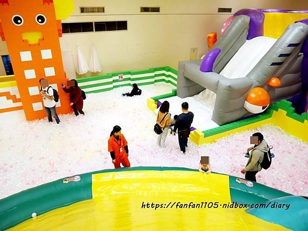 【新光南西】建築樂園-悠遊島 動物狂季 #室內親子樂園 #氣墊 #親子 #積木 (39).JPG