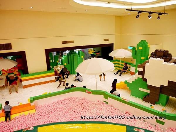 【新光南西】建築樂園-悠遊島 動物狂季 #室內親子樂園 #氣墊 #親子 #積木 (37).JPG