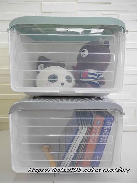 【Vencedor梵希朵】掀蓋免手扶收納箱 #收納箱 #收納櫃 #兒童玩具收納 #儲物櫃 (2).jpg