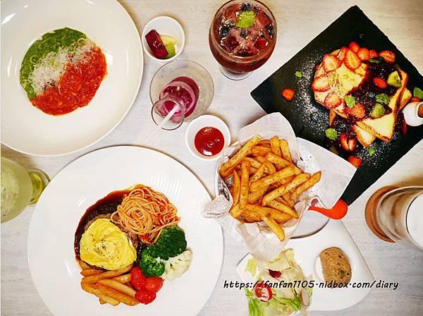 【國父紀念館義式餐廳早午餐】Gattino #早午餐 #義式餐廳 #義大利麵 #鮮奶吐司 #甜點 #國父紀念館 (1).jpg