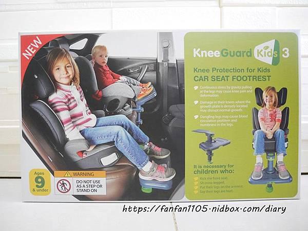 【韓國 KneeGuardKids】兒童車用腳踏座 讓孩子坐車更舒適 (4).JPG