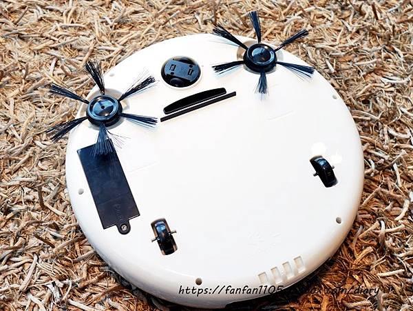 HANLIN-ESD1 USB充電吸塵掃地機 999元 吸塵、掃地、拖地等三合一 #小資族的福音  #高CP值 #掃地機 (9).JPG