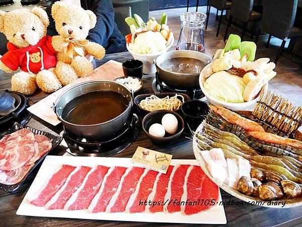 【宜蘭美食】熊飽鍋物-宜蘭店 #宜蘭火鍋店 #泰迪熊主題餐廳 #宜蘭親子火鍋