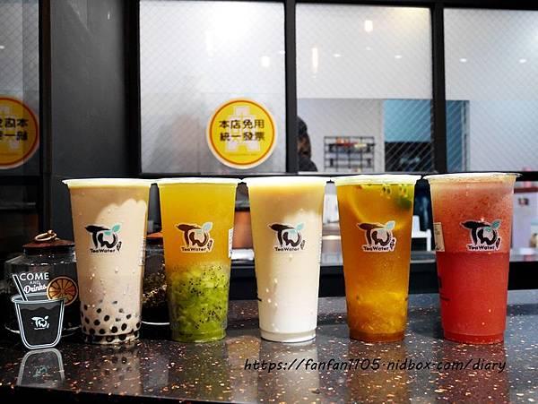 【板橋飲料推薦】TEA WATER-板橋店 #手搖飲料 #天然茶葉 #新鮮水果 #板橋美食