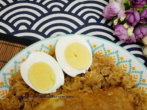 彌月油飯推薦【悅之喜】彌月油飯 #悅好 #有雞蛋 #雞腿油飯 (7).JPG