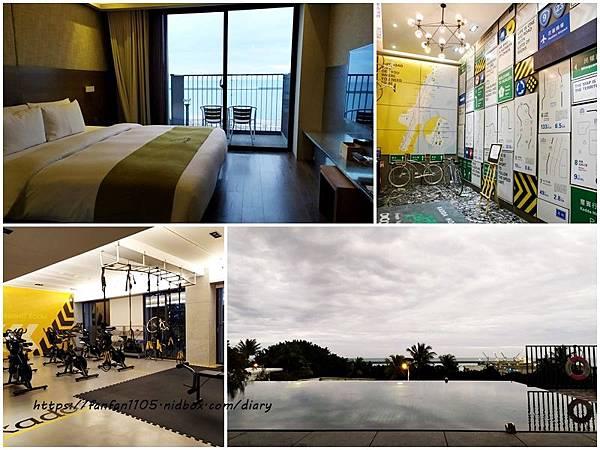 【花蓮住宿】kadda hotel 璽賓行旅 #海景飯店 #單車旅店 #無邊際泳池