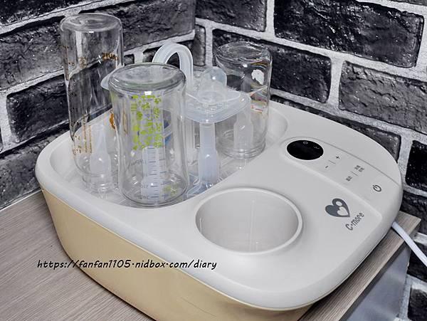 【新貝樂C-more】K2高效能溫奶消毒烘乾鍋 溫奶、消毒、烘乾一次完成 (6).JPG