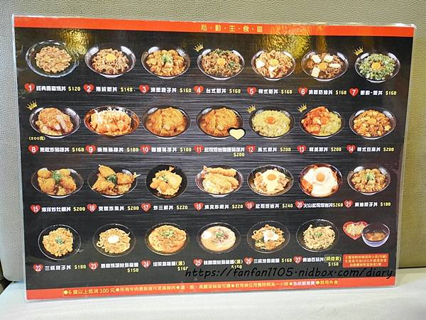 【台北美食】新丼 #起司瀑布 #無敵炸豬排 27種平價高cp值丼飯,只要$120元起 (1).JPG