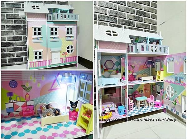 【TEAMSON】奇境日光室木製聲光豪華娃娃屋 #木質玩具 #小女孩玩具 #兒童玩具 #娃娃屋 (24).jpg