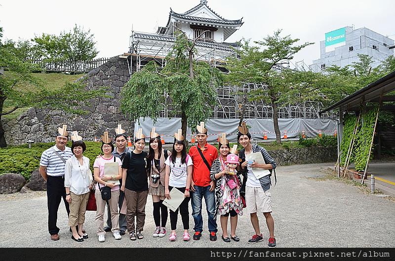 日本東北 仙台宮城參訪團 合照